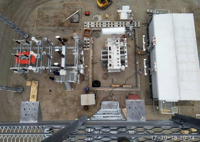 ПС 10/110 кВ для Ининской СЭС мощностью 10 МВт